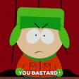 South Park / AOL mashup - Kyle - You've Got Mail / You Bastard!