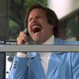 Anchorman The Legend of Ron Burgundy (2004) - Ron - In a Glass Case of Emotion Scene