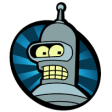 Futurama - Bender - Bite my shiny metal ass