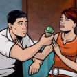 Archer S01E01 - Archer - Just the tip!