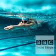 07038318 - (sfx) - Person swimming, breast stroke.
