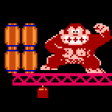 Donkey Kong (1981) - Game Over