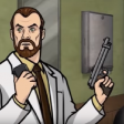 Archer S03E05 - Krieger - Subject A however... remains at large ... being clinical trial 14