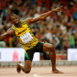 Usain Bolt - It's talent on one end but you got to work to get it there