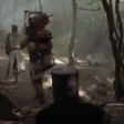Monty Python and the Holy Grail (1975) - Black Knight - You yellow bastards!